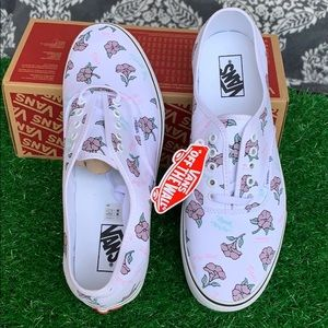 VANS AUTHENTIC THANK YOU FLORAL TRUE WHITE men's